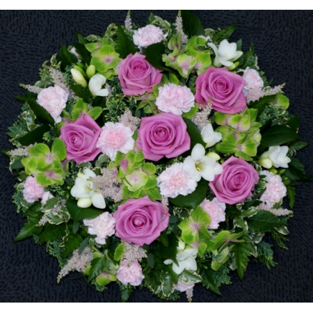 Green and Pink Posy Pad