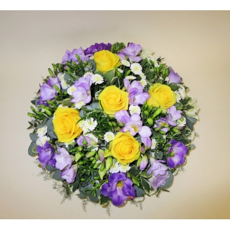 Yellow and Lilac Posy Pad