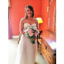 Laura, our stunning bride