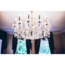 Chandelier at Blackbrook House