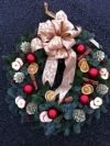 Beautiful Festive Door Wreath