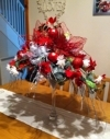 Christmas design in situ, early purchase by a very happy customer