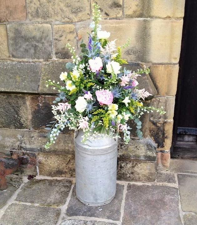 Pedestal Arrangements Belper Florist Derby Flowers