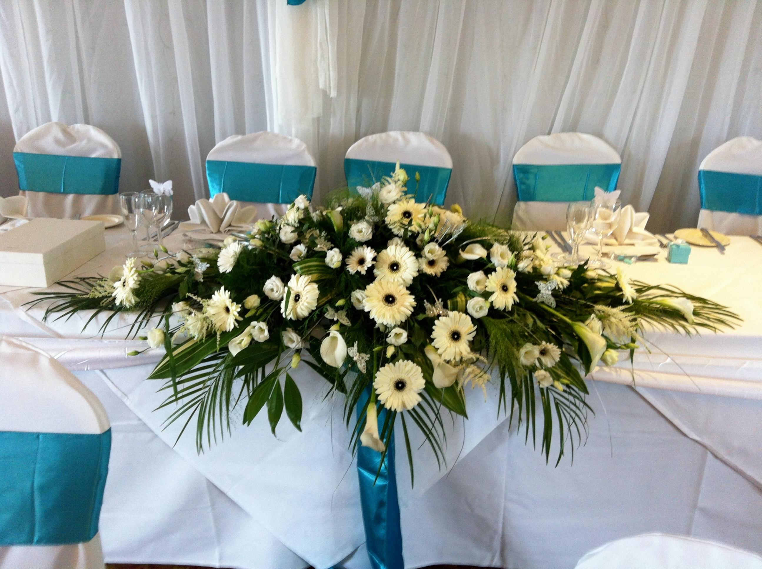 Top Table Arrangements Belper Florist Derby Flowers